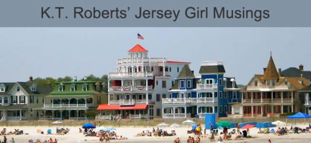 Jersey Girl Musings banner - a picture of the Cape May shoreline